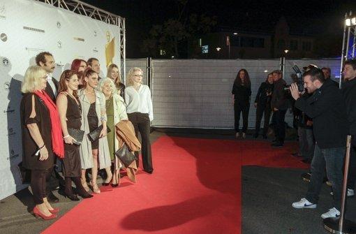Großer Bahnhof in Ludwigsburg zur Verleihung des Kurzfilmpreises. Foto: factum/Bach