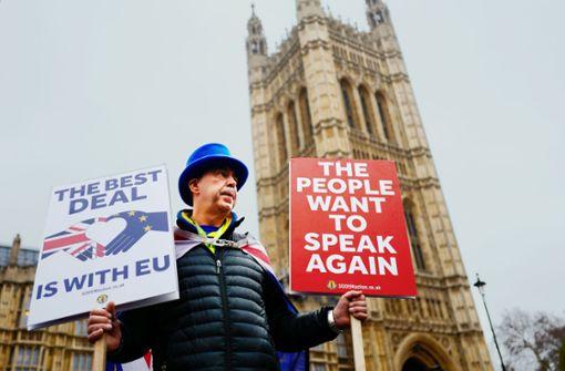 Unwirkliche Szenen im wirren Westminster