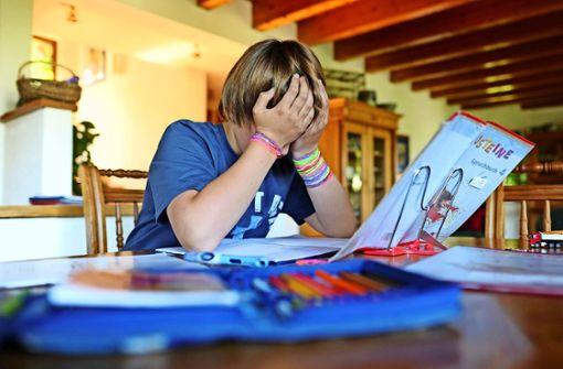 Schüler stehen zunehmend unter Druck