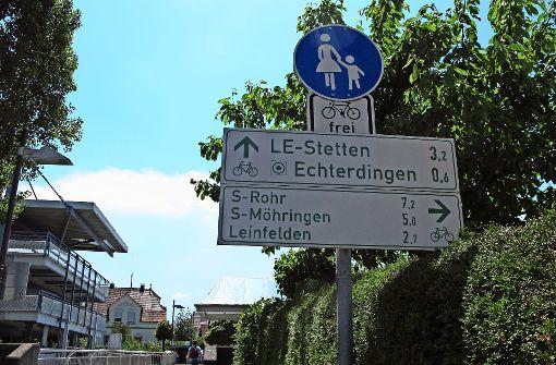 Beim Fahrradklima liegt Filderstadt klar vorne