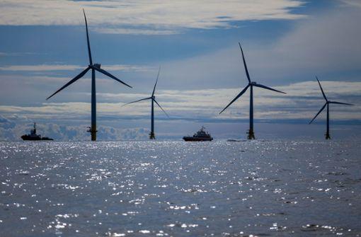 Der Karlsruher Energiekonzern EnBW weitet sein Engagement in der Offshore-Windenergie nach Asien aus. Foto: dpa-Zentralbild