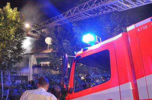 300.000 Euro Schaden bei Hausbrand