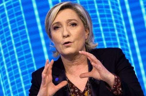 Marine Le Pen verweigert Ermittlern Aussage