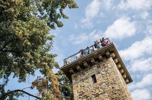 550 Besucher bewundern die Aussicht