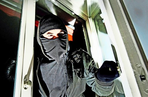 Einbrecher gab es in Obertürkheim  im Jahr 2015 nur wenige. Foto: dpa