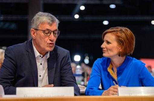 Katja Kipping und Bernd Riexinger als Vorsitzende wiedergewählt