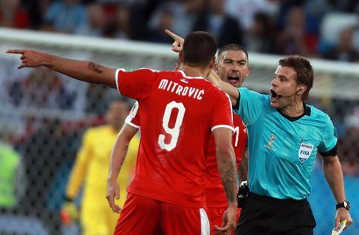 """Serben attackieren Felix Brych: """"Eine Schande"""""""
