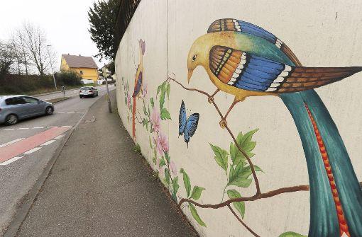 Sprayer haben offensichtlich Respekt vor Porzellan-Kunst. Seit über fünf Jahren hat der Graffitibeauftragte der Stadt Ludwigsburg an dieser Wand äußerst selten etwas zu tun.  Foto: factum/Granville
