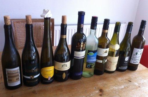 Ein ziemlich organgener Wein