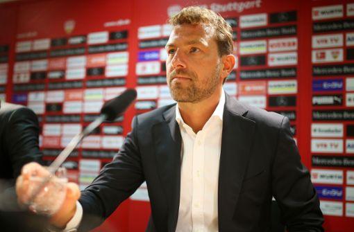 So lief die Vorstellung des neuen Trainers Markus Weinzierl