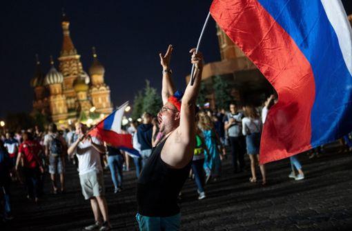 Russland jubelt – sogar im All