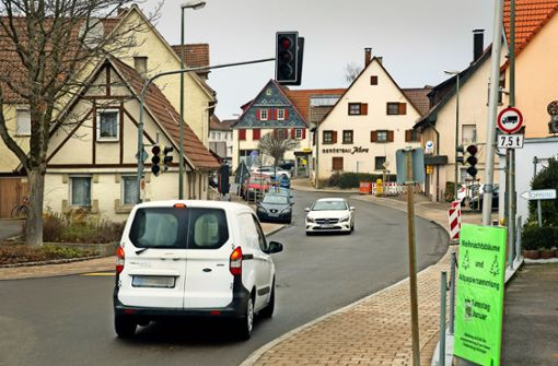 Heininger Ortsdurchfahrt: Ende der Sperrung  in Sicht