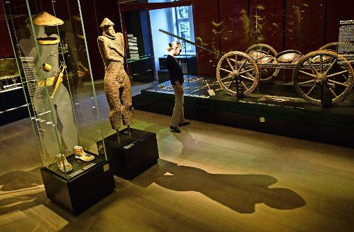 Blick in die Sammlungs-Neupräsentation im Landesmuseum Stuttgart Foto: dpa