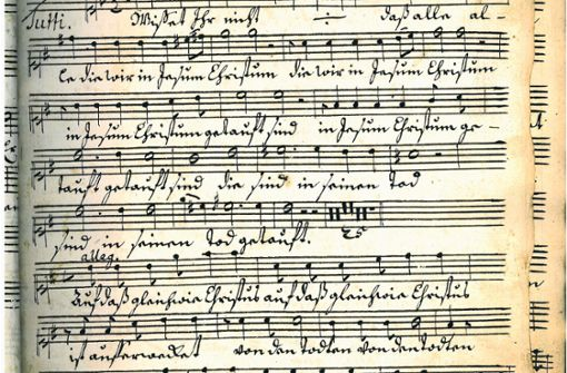 Welche Musik  hörte der Herzog in seinem  Schloss?