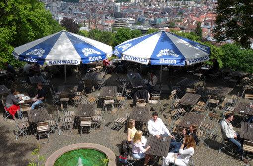 Die schönsten Biergärten in Stuttgart