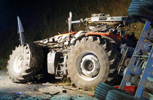 Traktorfahrer stirbt bei Unfall