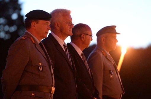 Die Bundeswehr sagt Lebewohl