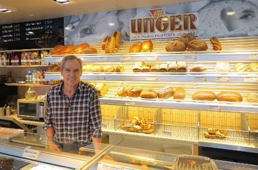 Ausschlafen ist für ihn ein Luxus: Thilo Unger ist seit 46 Jahren Bäcker und Konditor. Foto: Julia Bosch