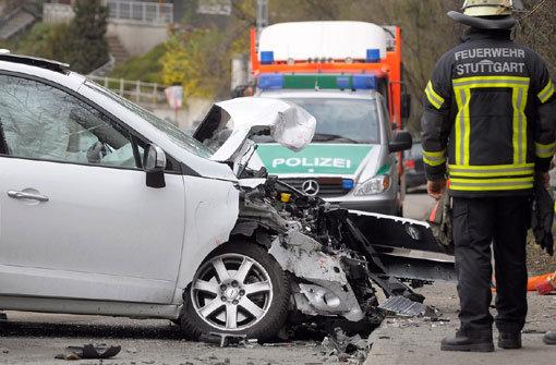 Zwei Verletzte bei Unfall