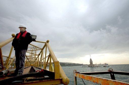 Am Dienstag eröffnet die Marmaray-Bahnstrecke – Sie soll in Istanbul den Verkehr entlasten und Europa mit Asien verbinden Foto: EPA