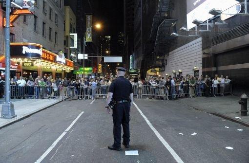 Bombe auf Times Square entschärft