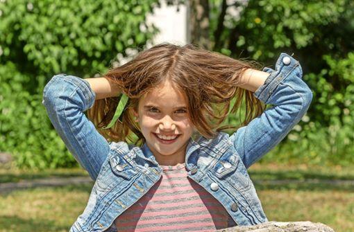 Luana Hess spendet ihre Haare einem krebskranken Kind