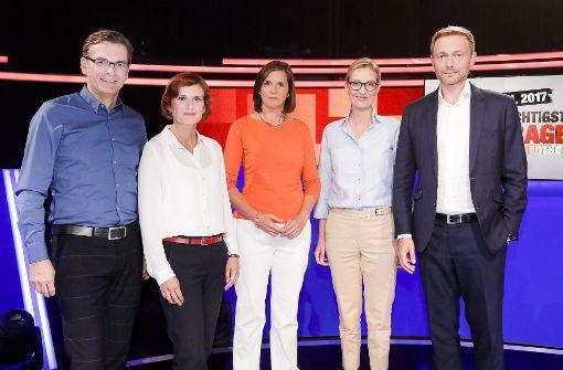 Lindner und Weidel gewinnen TV-Debatte