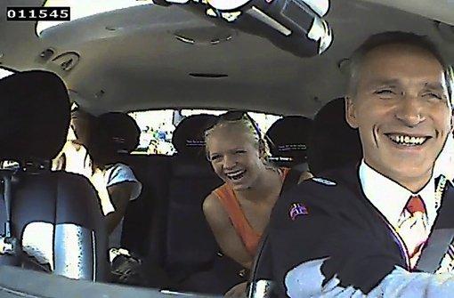 Premier als Taxifahrer auf Wählerfang