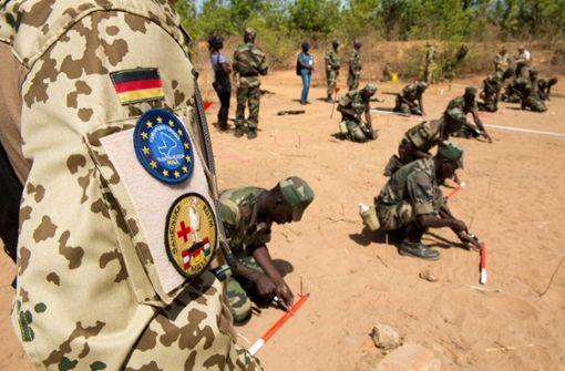 Deutsche Militärhilfe für Sahel stößt auf Widerstand