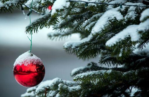 Noch gibt es Hoffnung auf weiße Weihnacht