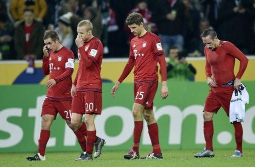 Gladbach stoppt die Bayern, Dortmund rückt näher