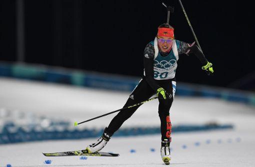 Laura Dahlmeier erläuft Bronze im Einzel-Rennen