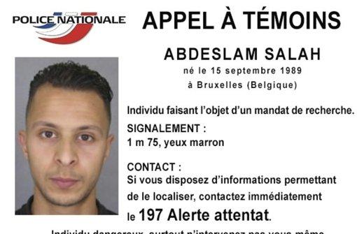 Salah Abdeslam soll an den Terroranschlägen in Paris im vergangenen November beteiligt gewesen sein. Foto: Police Nationale/AP