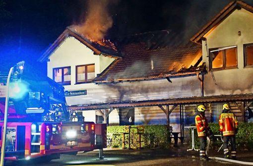 Wiederaufbau nach Großbrand wird finanzieller Kraftakt