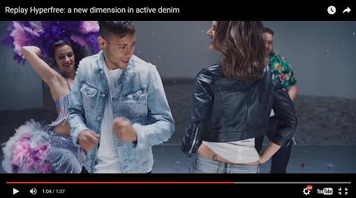 Ambrosio und Neymar tanzen in Jeans