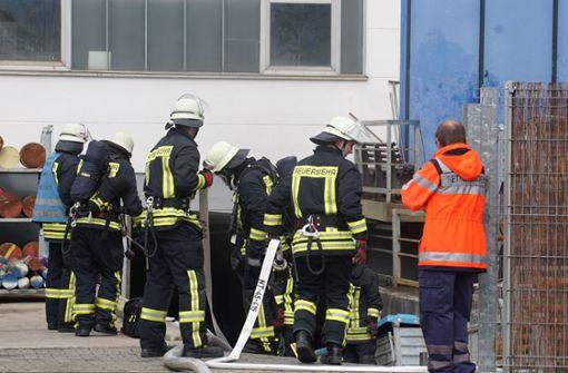 In einer Firma war es in einer Lackierkabine zu einem Feuer gekommen. Foto: SDMG