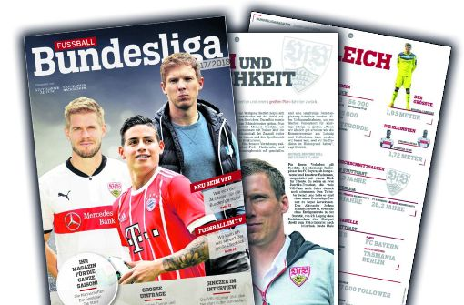 Am Freitag am Kiosk: Das Bundesliga-Magazin zum Saisonstart