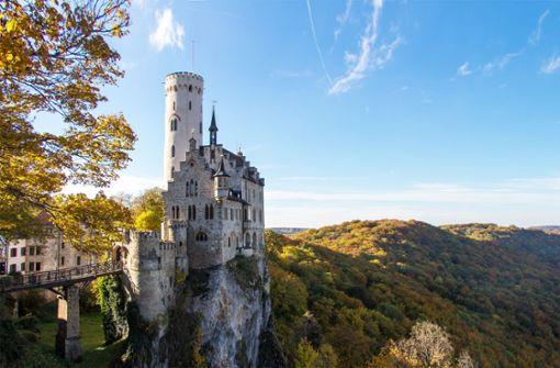 Zum Schloss Lichtenstein