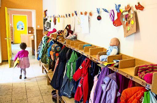 In Stuttgart fehlen aktuell rund 3500 Betreuungsplätze für unter Dreijährige. Foto: dpa
