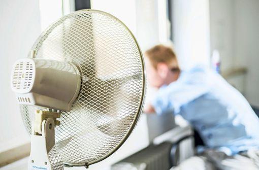 Ventilatoren sind heiß begehrt