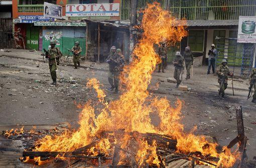 Tote bei gewaltsamen Protesten nach Wahl
