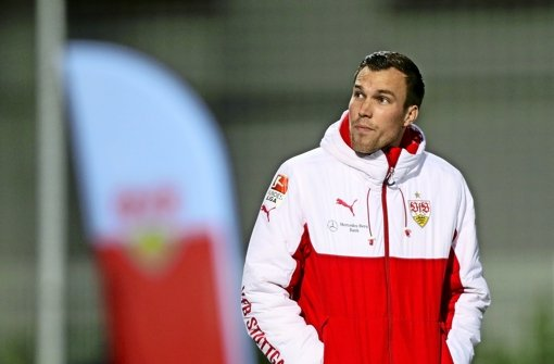 Steht vor dem Pflichtspieldebüt für den VfB Stuttgart: Neuzugang Kevin Großkreutz. Foto: Baumann