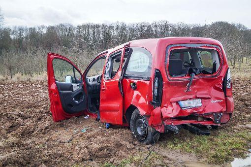 Familie nach Unfall an Heiligabend im Krankenhaus