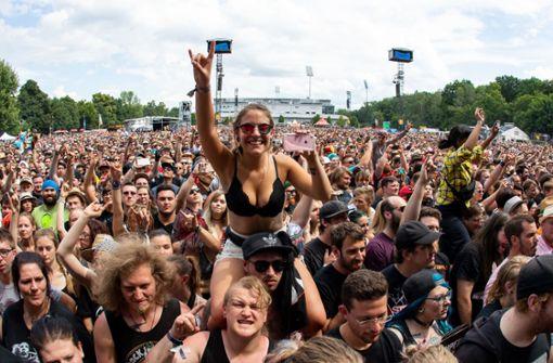 """Fans feiern bei """"Rock am Ring"""" und """"Rock im Park"""""""