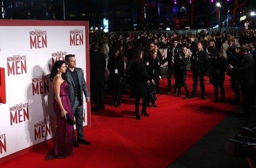 Clooneys Jungs auf großer Tour