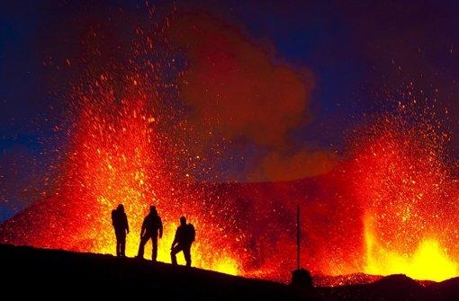 Feuerberge der Erde