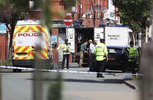 Polizei evakuiert Gebiet in Manchester
