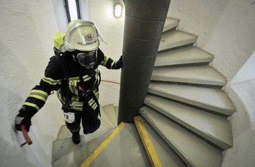 314 Stufen hat die enge Wendeltreppe. Foto: Lichtgut/Ferdinando Iannone