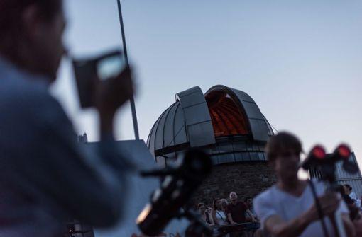 ...bietet bei klarem Himmel die Sternwarte Stuttgart eine Führung am Teleskop an.  Foto: Lichtgut/Max Kovalenko