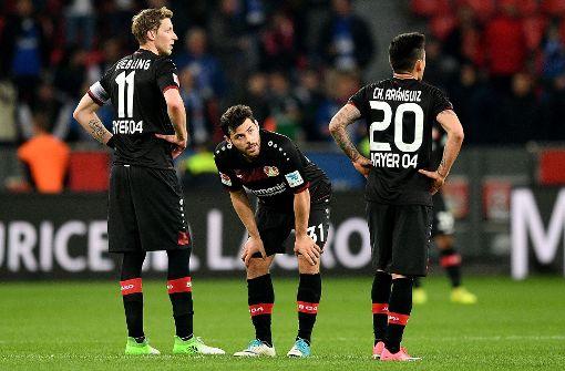 Heimdebakel für Leverkusen gegen Schalke